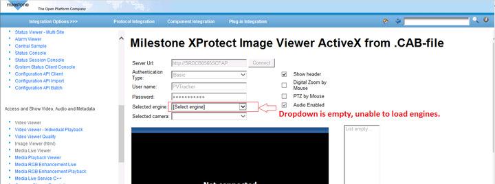 Milestone MIP SDK imageviewer ActiveX