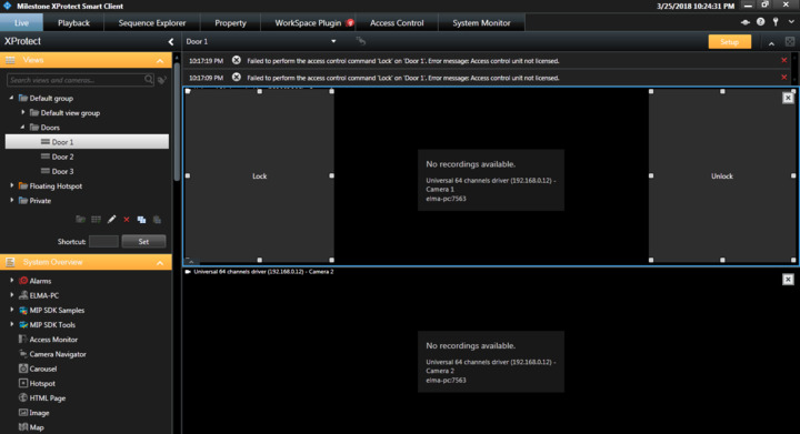 How to test a Plugin for Access Control developed with MIP